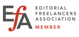EFA Editorial Freelancers Association logo