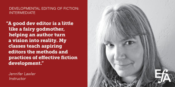 Developmental Editing of Fiction: Intermediate Course - EFA Events