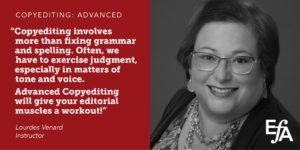Copyediting: Advanced - Editorial Freelancers Association Events