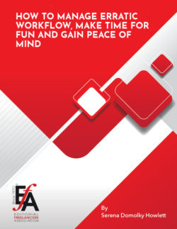 2018 Booklet Reissued: How to Manage Erratic Workflow, Make Time for Fun and Gain Peace of Mind