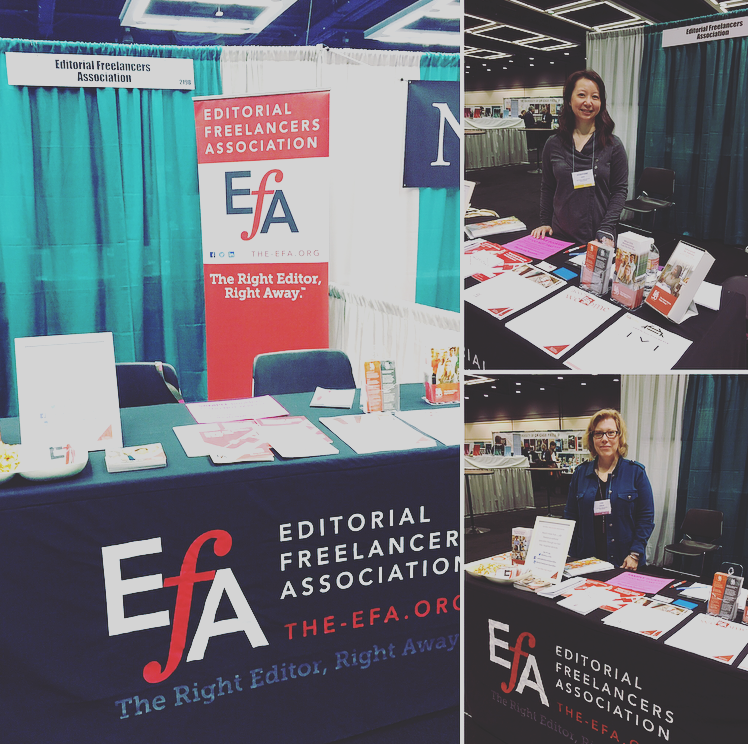 EFA Exhibits for the First Time at MLA in Seattle