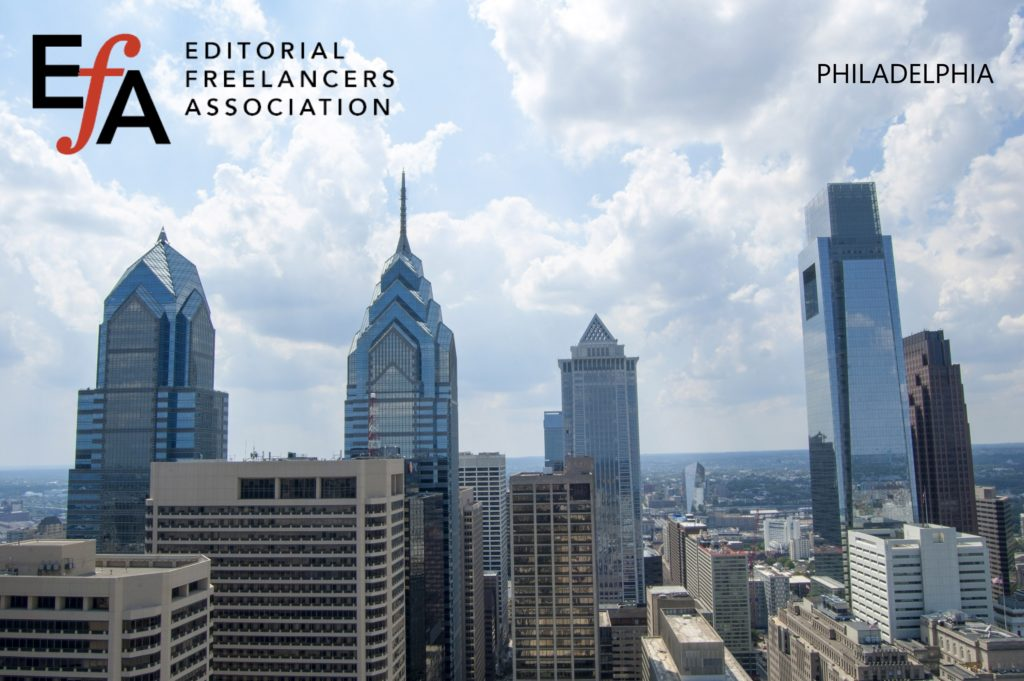 Philadelphia-area members: Join the chapter Facebook Group