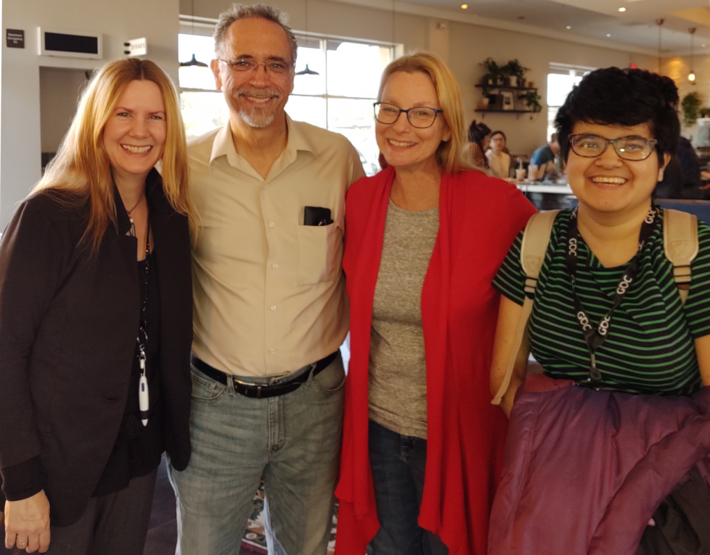 Los Angeles Area Chapter Meets for Coffee in Santa Clarita