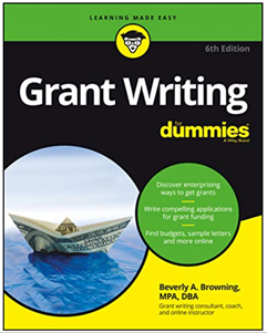 Grant Writing for Dummies: Webinar 5/15/2020, Bev Browning, $29