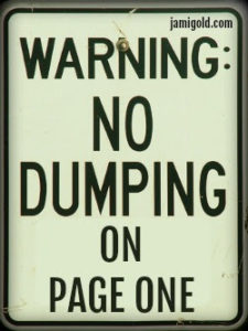 no-info-dumping