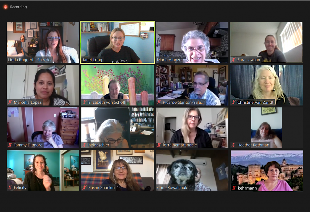 EFA Los Angeles Area Holds Summer Chapter Meeting on Zoom
