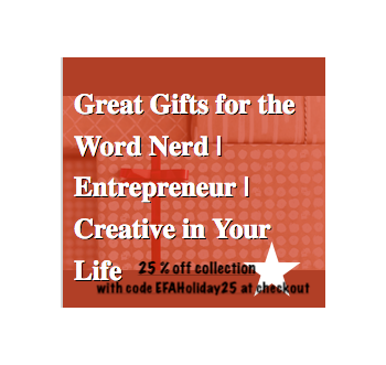 Get Great Gifts for Word Nerds (and 25% off)