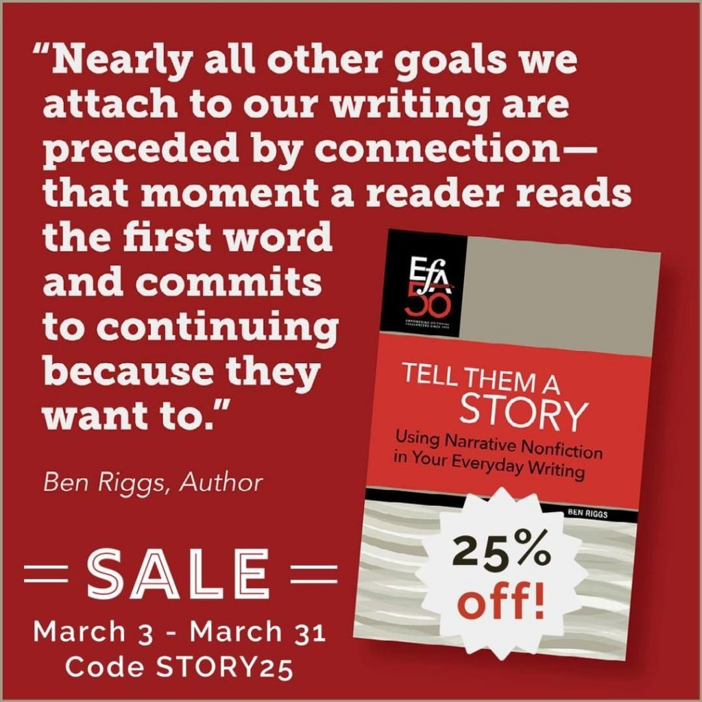 25% Off New Ebooklet in EFA's Aer.io Store Through March 31!
