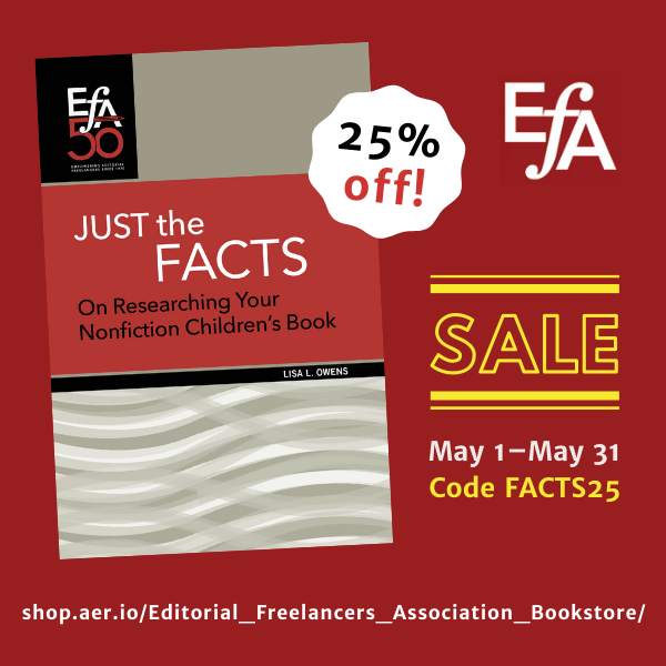 25% Off New Ebooklet in EFA's Aer.io Store Through May 31!
